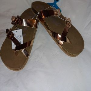 Women's Mad Love flatbed sandal